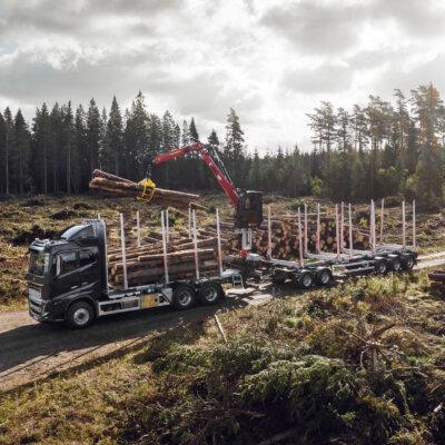 64 ton på ostadig väg – ny spetsutbildning på Liljaskolan